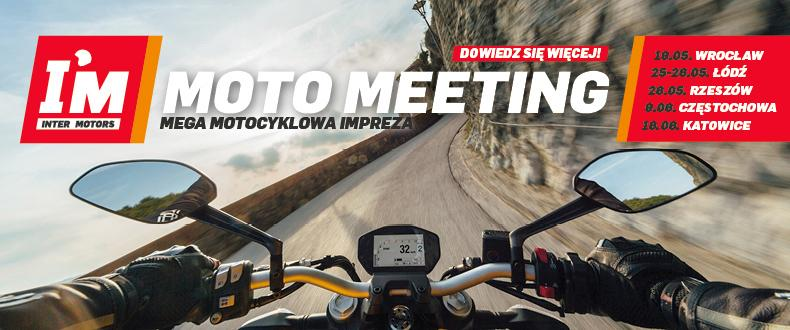 Moto Meeting  przy salonach I'M Inter Motors