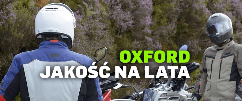 Odzież dla wymagających motocyklistów: Oxford Wear
