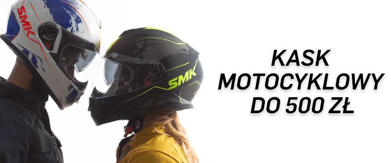 Kask motocyklowy do 500 zł - nasze propozycje