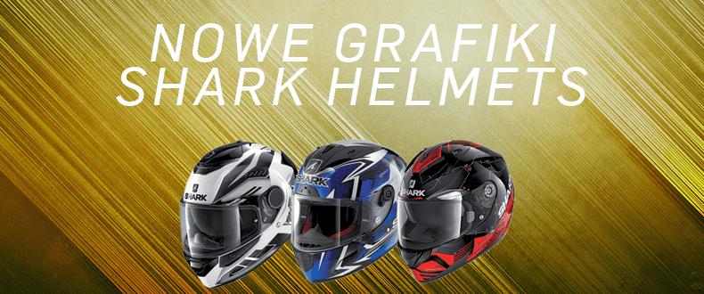 Nowe grafiki SHARK Helmets na 2020 r. Odkrywamy karty