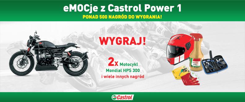 Poczuj emocje z Castrol Power 1 i wygraj motocykl lub jedną z 500 innych nagród!