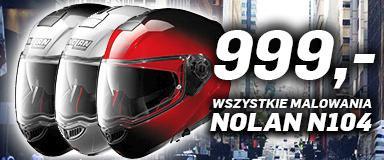 Kask szczękowy Nolan N104 w cenie 999 zł