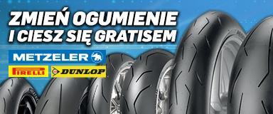 Promocja opon Metzeler, Pirelli i Dunlop
